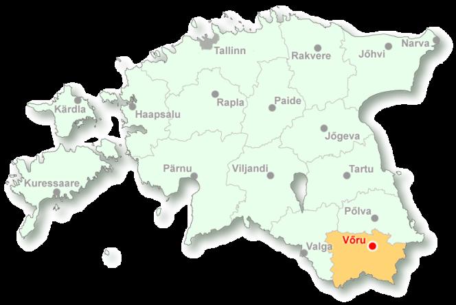 Voru_location